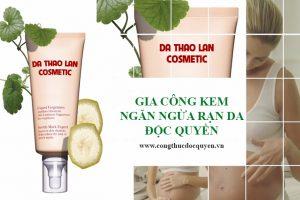 Gia công kem massage rạn da- Gia công mỹ phẩm- Kem ngăn ngừa rạn da