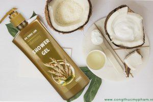 Công thức mỹ phẩm – sữa tắm dưỡng ẩm da