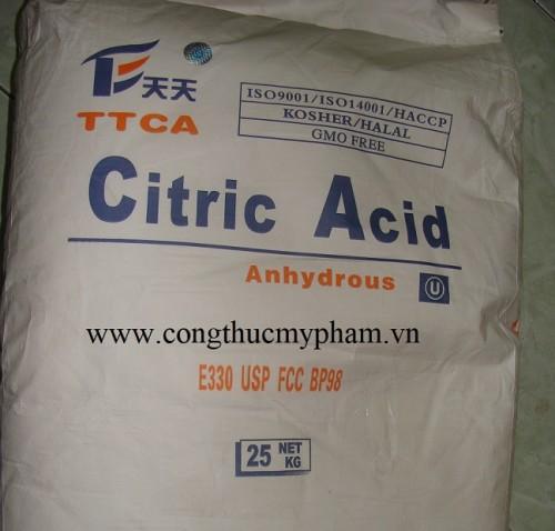 Acid citric giá sỉ – Cung cấp Acid citric giá sỉ chất lượng cao trên toàn quốc