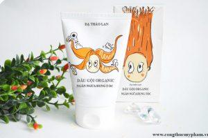 Gia công dầu gội organic trị rụng tóc- Gia công dầu gội ngăn rụng tóc