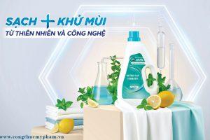 Gia công nước giặt quần áo khử mùi, nước giặt quần áo trắng