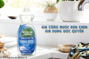 Gia công nước rửa chén gia dụng- Nước rửa chén gia đình, nước rửa chén