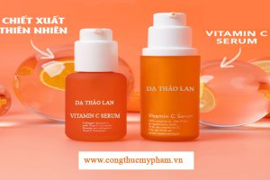 Gia công serum vitamin C, gia công serum theo yêu cầu, serum vitamin C