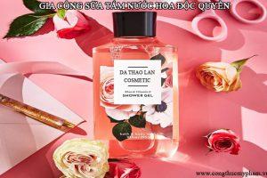 Gia công sữa tắm nước hoa- Gia công mỹ phẩm- Sữa tắm nước hoa