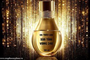 Gia công sữa tắm vàng nguyên chất- Sữa tắm vàng 24k