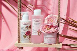 Gia công toner hoa hồng- Gia công mỹ phẩm- Toner nước hoa hồng