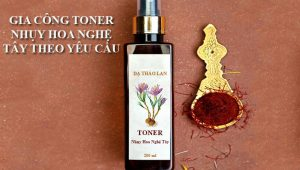 Gia công toner nhụy hoa nghệ tây-Gia công mỹ phẩm-Toner nhụy nghệ tây